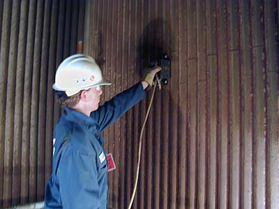 LFET Inspection of a water wall