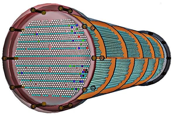 3D heat exchanger