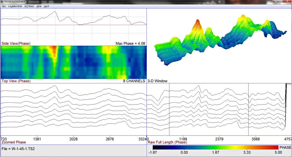 pressure vessel waveform wall loss